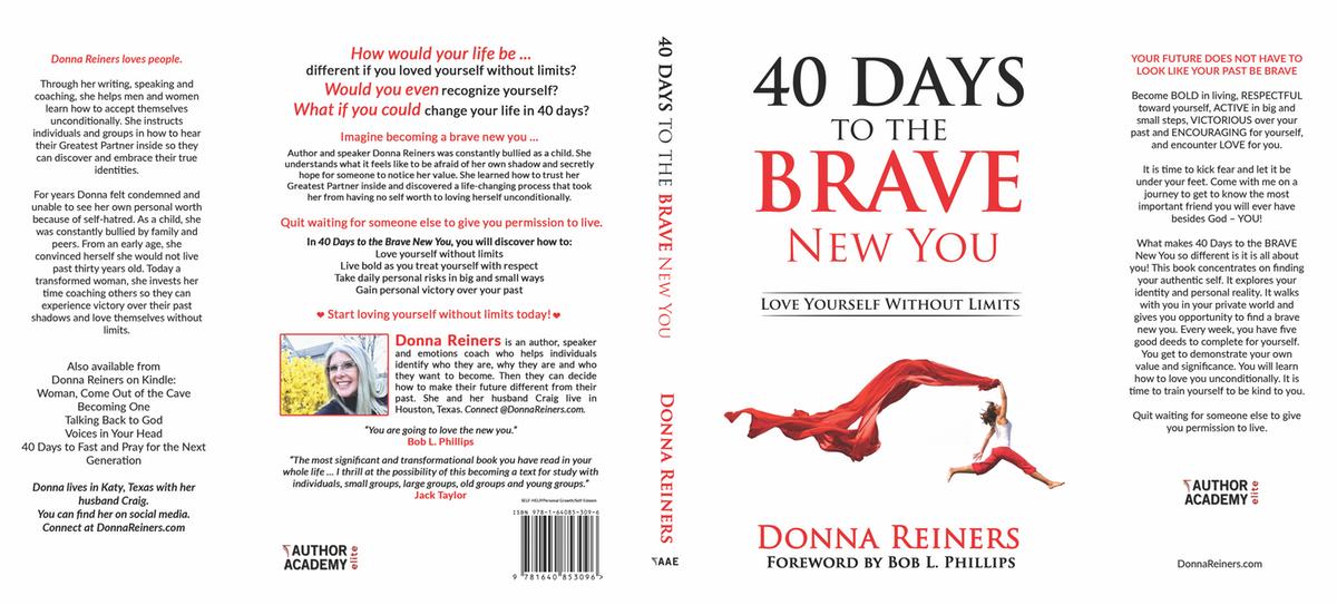 40 Days to the brave new you (Ingramspark paperback, hardback, audiobook) )