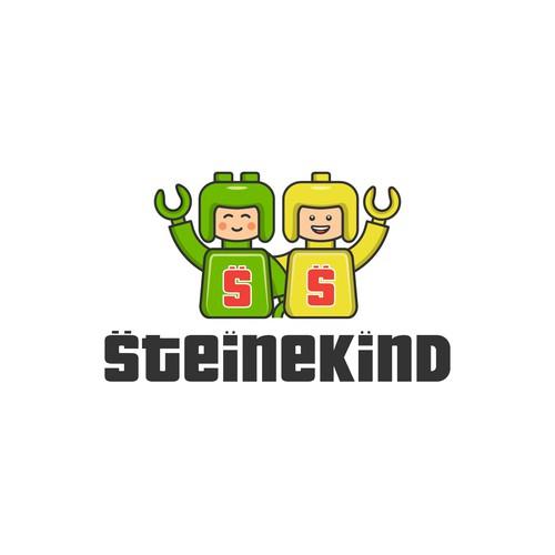 Logo mascot for steinekind.
