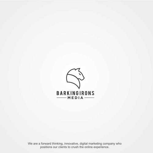 Design a clean, simple, modern logo for a digital marketing company.