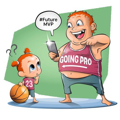 Humor based Illustrations