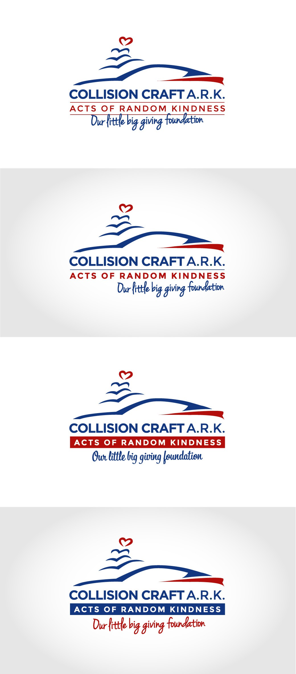 Create a logo for our charitable, giving foundation