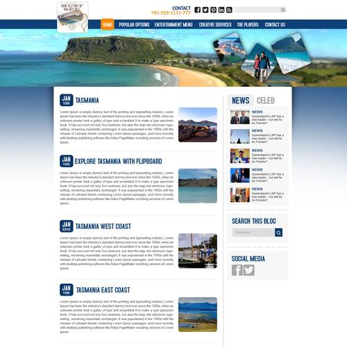 Web page concept