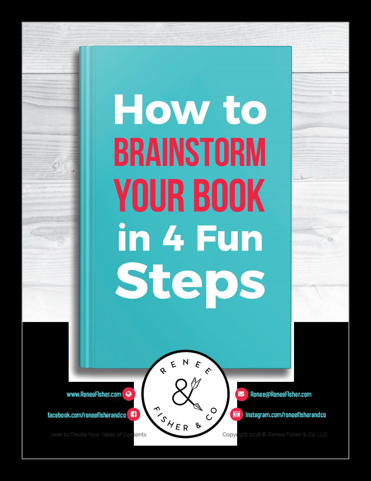 Book Brainstorm Lead Magnet