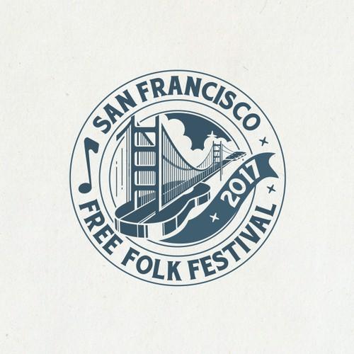San Francisco Free Folk Festival Logo