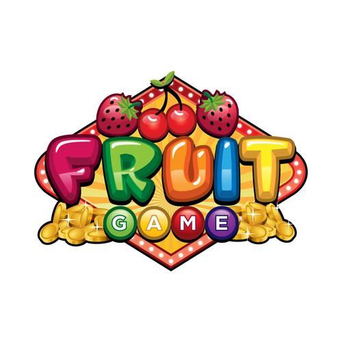 FRUIT GAME LOGO DESIGN