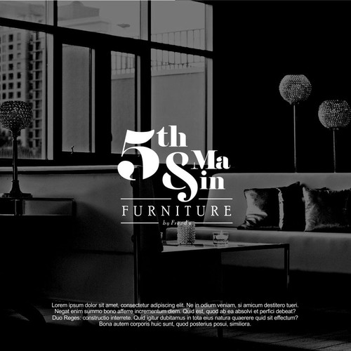 Design a logo as beautiful as our home furnishings.