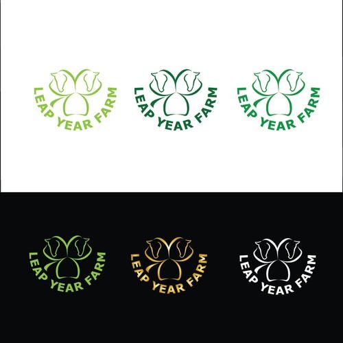 Logo concept for horse farm.