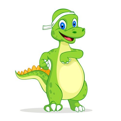 Mascot for a Krav Maga school