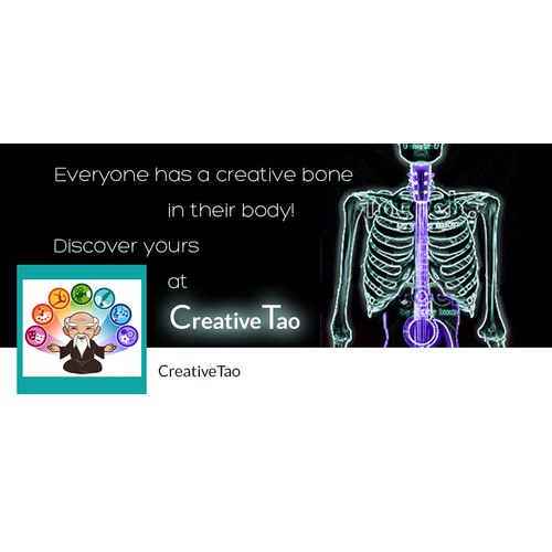 Help us design a FB Cover Photo for CreativeTao, an exciting new start up that celebrates Creativity!