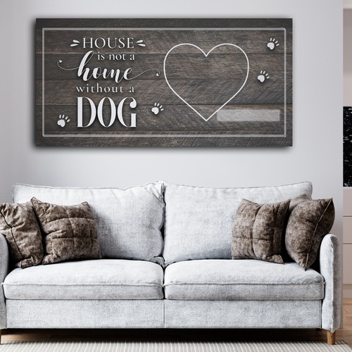 Canvas dog quotr
