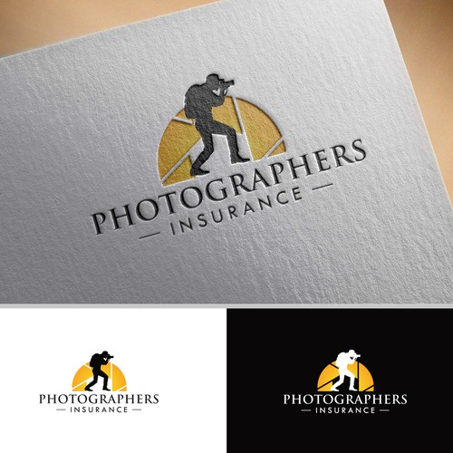 Logo Design for Photographers Insurance Website