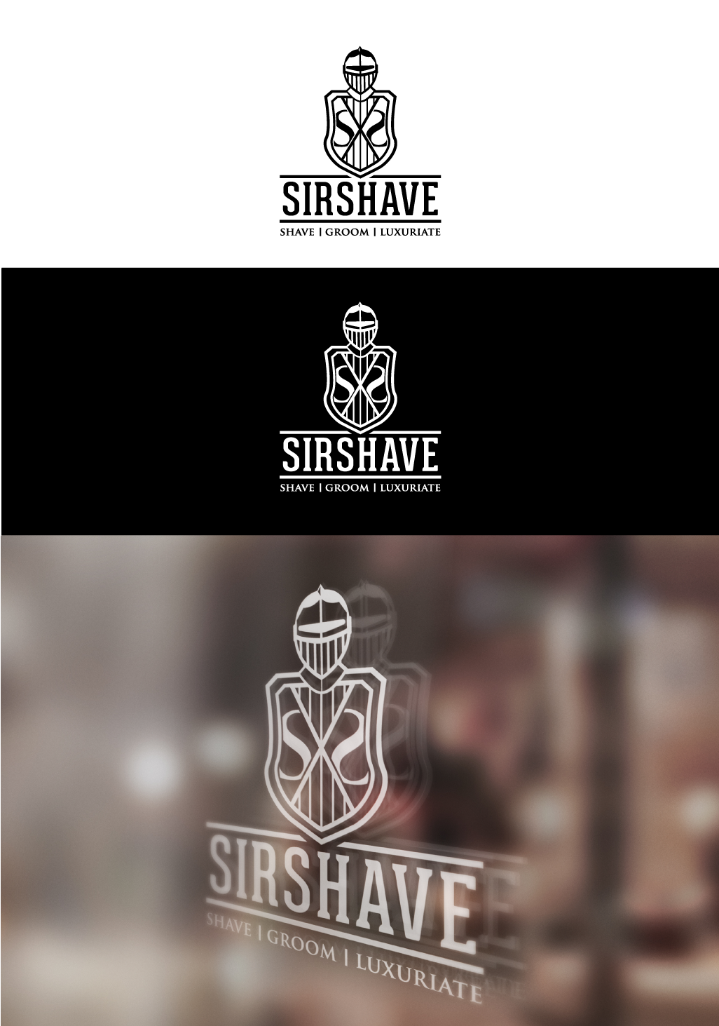 Help Sir Shave with a new logo