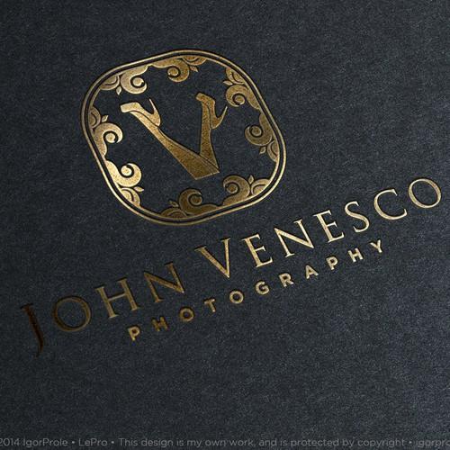 Create a logo for Boudoir Photographer John Venesco