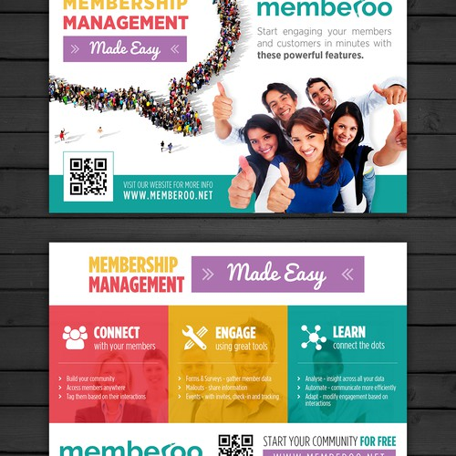 Postcard for memberoo