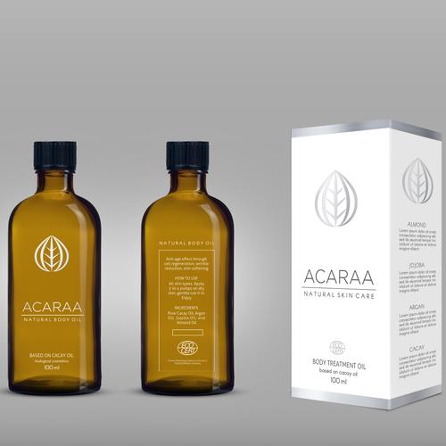 Akaraa, packaging design