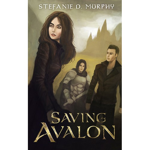 "Please, make a fantastic eyecatcher for my book ""Savin Avalon"""