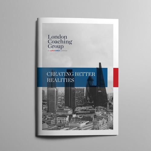 Design elegant Information Booklet for ActionCOACH