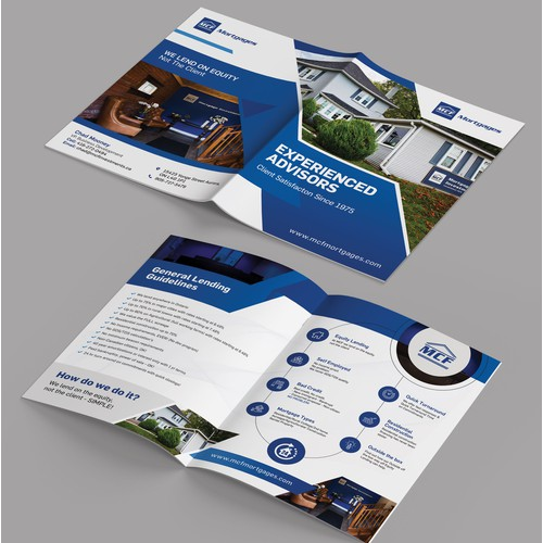 Brochure Design for top mortgage investment corporation