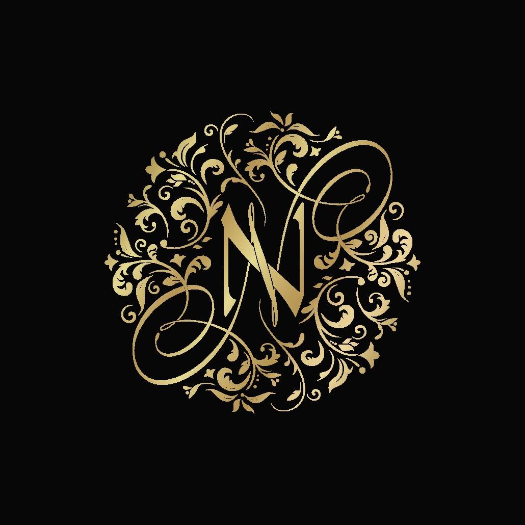 Wedding monogram Logo for Neel & Nidhi's Wedding