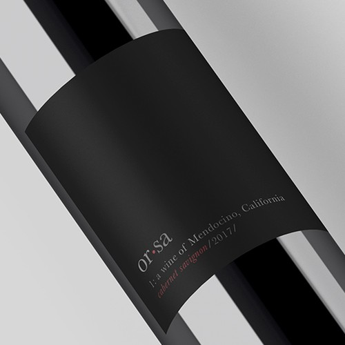 Label for Value Wine