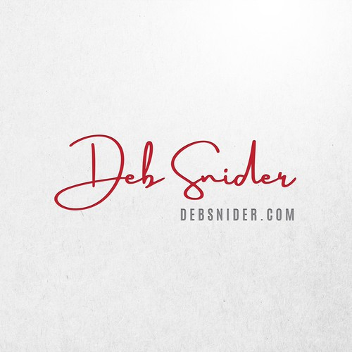 Powerful logo for Deb Snider