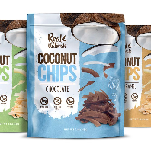 Real Naturals Coconut Chips