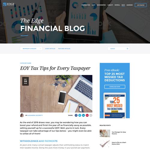 Edge Financial - Blog