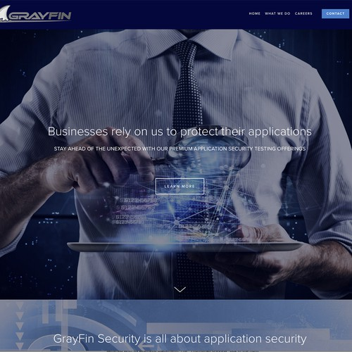IT Security Website Design