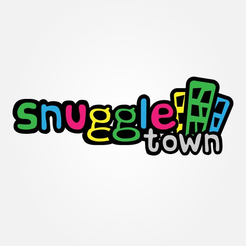 Bright & Colourful Logo Design for Snuggletown
