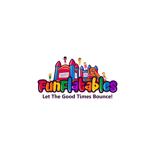 Create a fun, eye catching logo for a new inflatable rental company