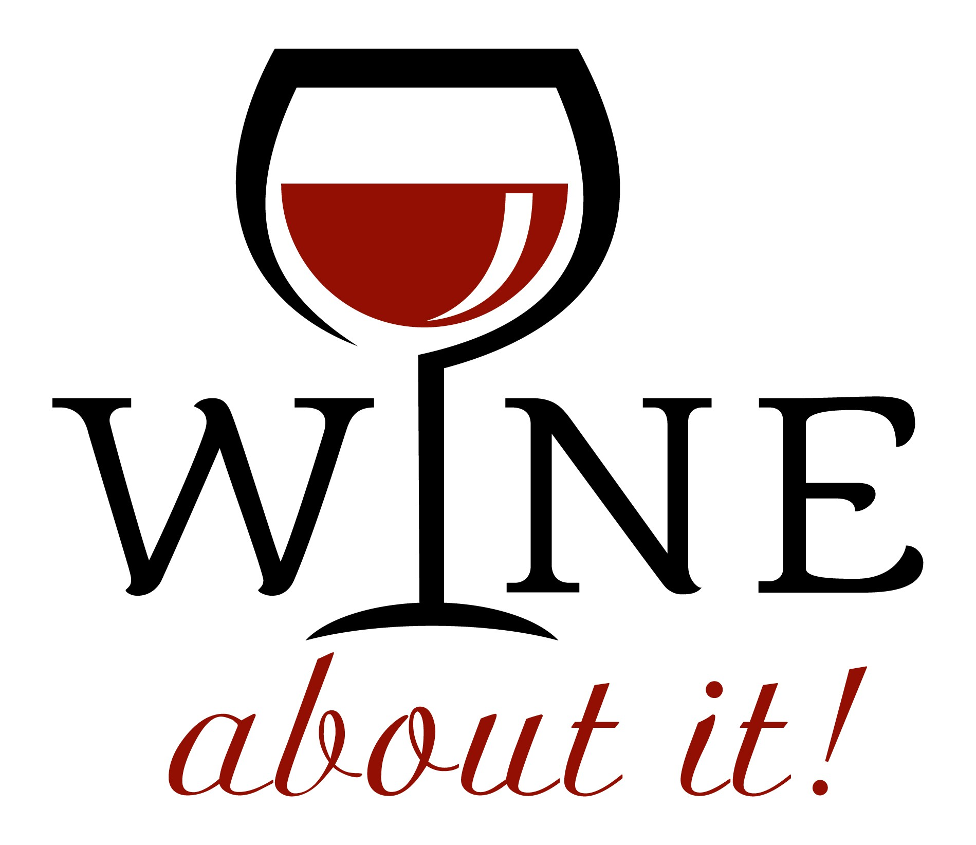 """Wine About It"", a wine accessories company is in need of a casual, fun, sophisticated logo"