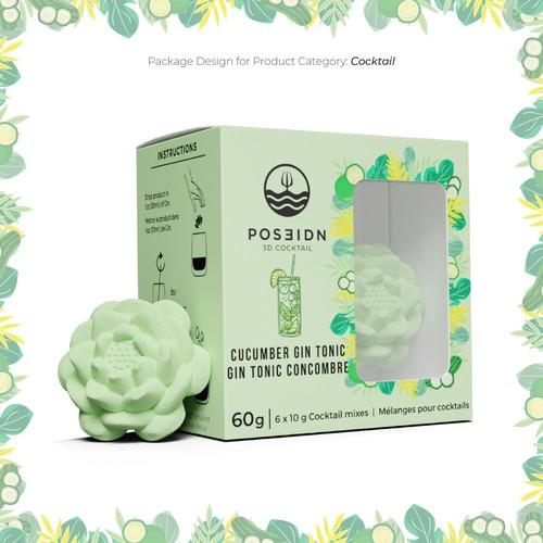 Packaging Design for POSEIDN