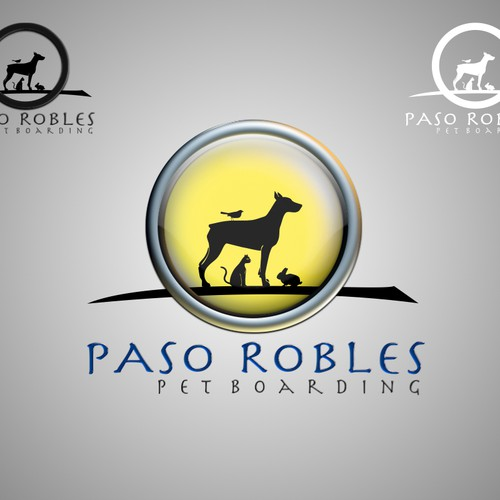Create the next logo for Paso Robles Pet Boarding