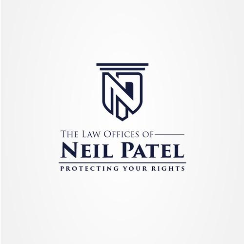 NP latter logo