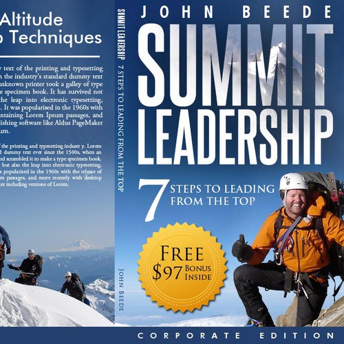 Leadership Guide for High School and College Students! Winning designer 'guaranteed' & will to go to print.