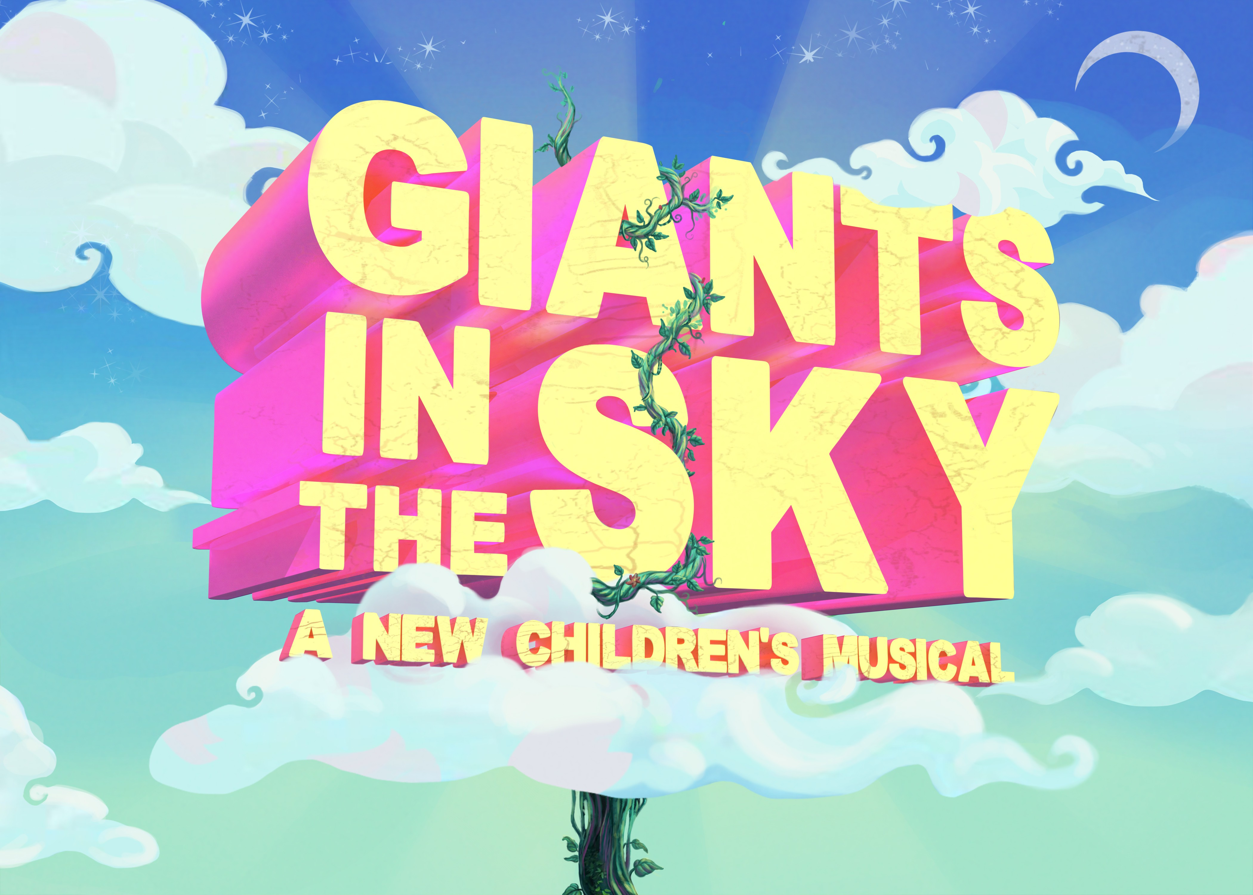 Design eye-catching Title Art for new musical GIANTS IN THE SKY