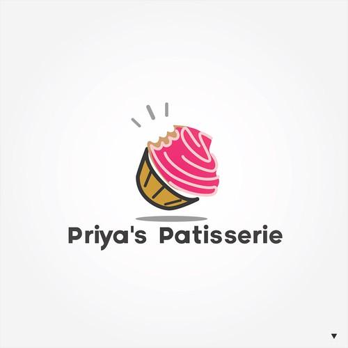 Logo design for cake & bakery brand