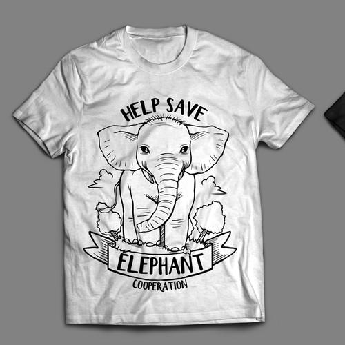 T-Shirt Line Art
