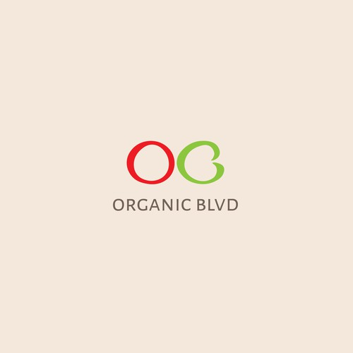 Logo for 'Organic Blvd'