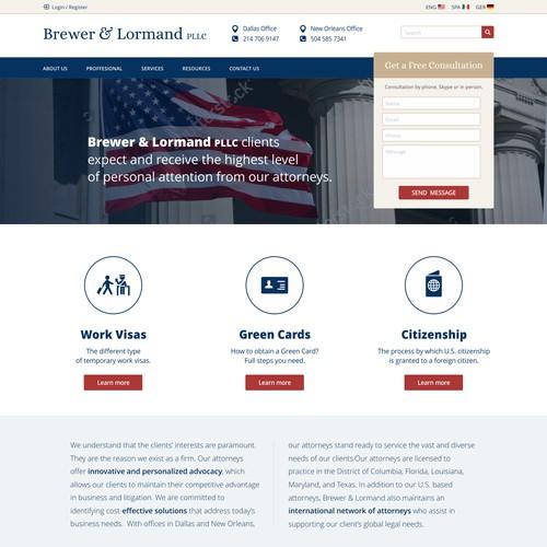 website law office