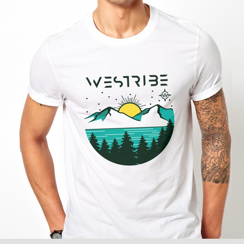 """Design me a simple and good place to ride to impact our brand """"Westribe"""""""