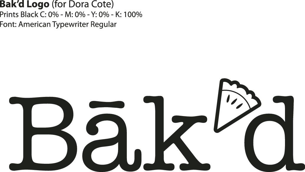 Masterchef Canada Finalist needs a Master logo for her new bakery: Bak'd