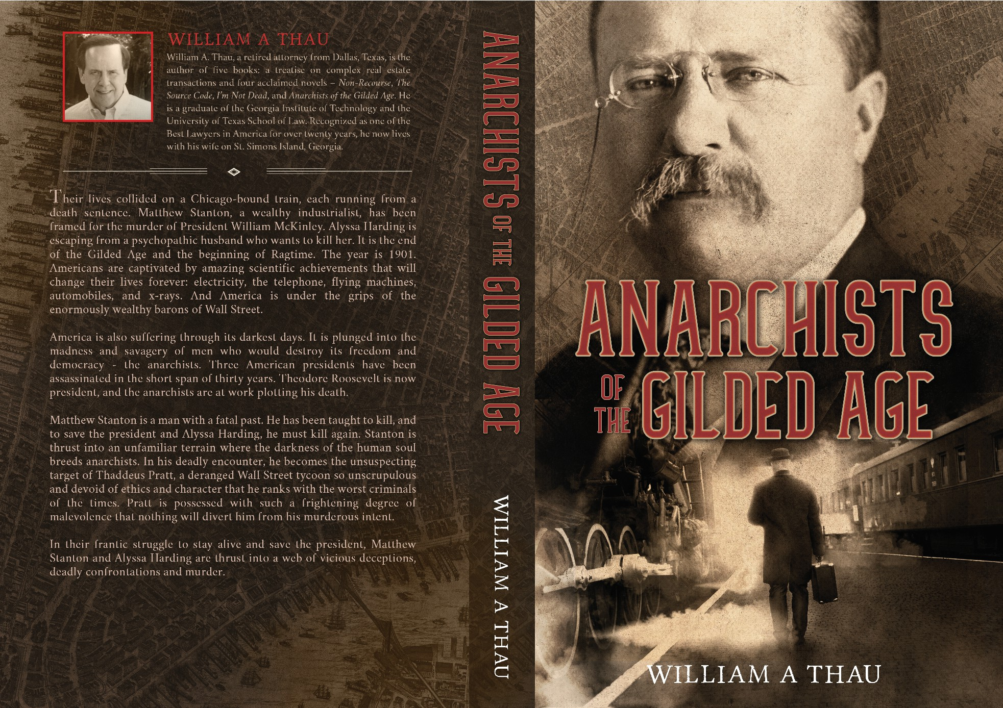 A deadly encounter between a framed industrialist with a fatal past, and anarchists.