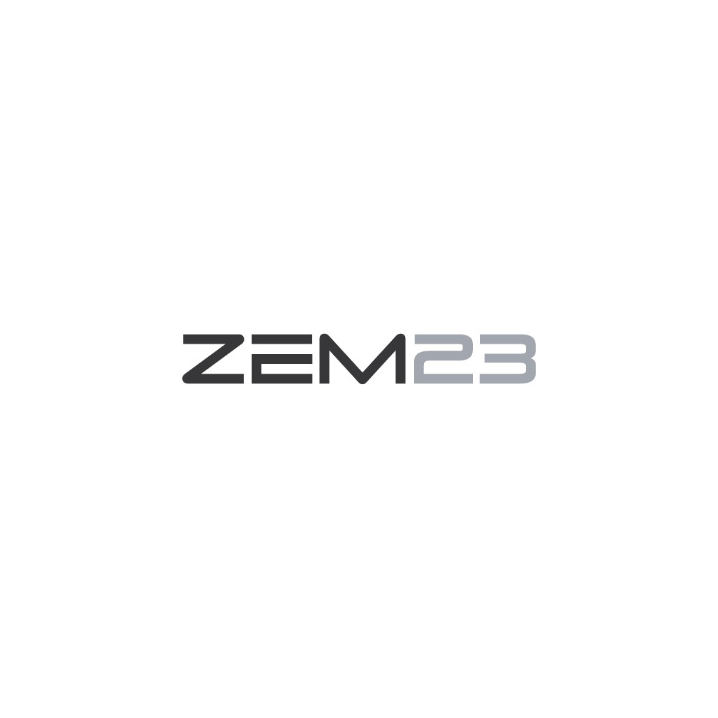 Zem23 needs a modern logo that represents simplicity and quality