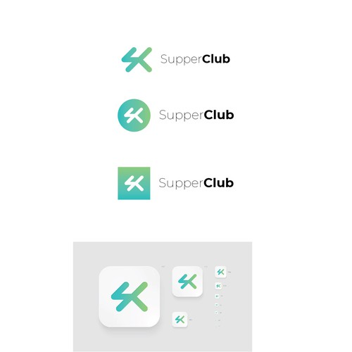 a logo for a tech platform for private clubs