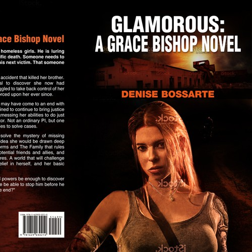 "Need WOW cover for Paranormal Mystery novel ""Glamorous"""