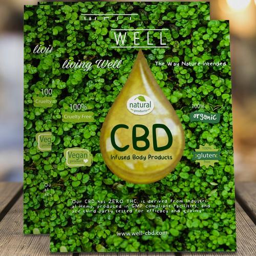 CBD Poster for Spas