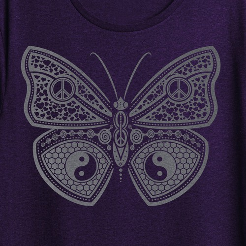 Good vibe butterfly