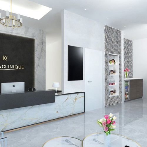 3D Interior design for dermaclinique