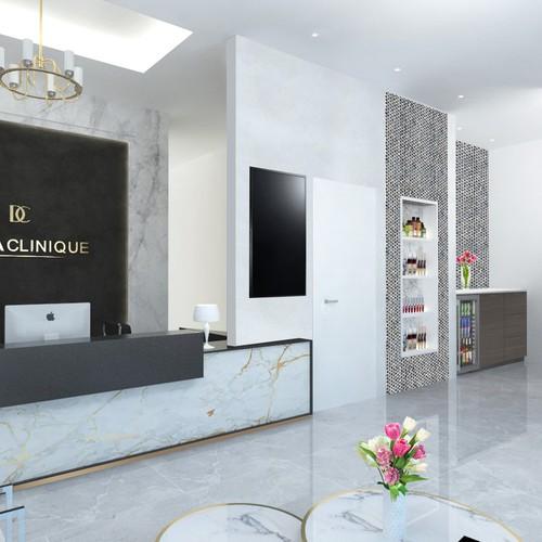 3D Interior design for dermaclinique